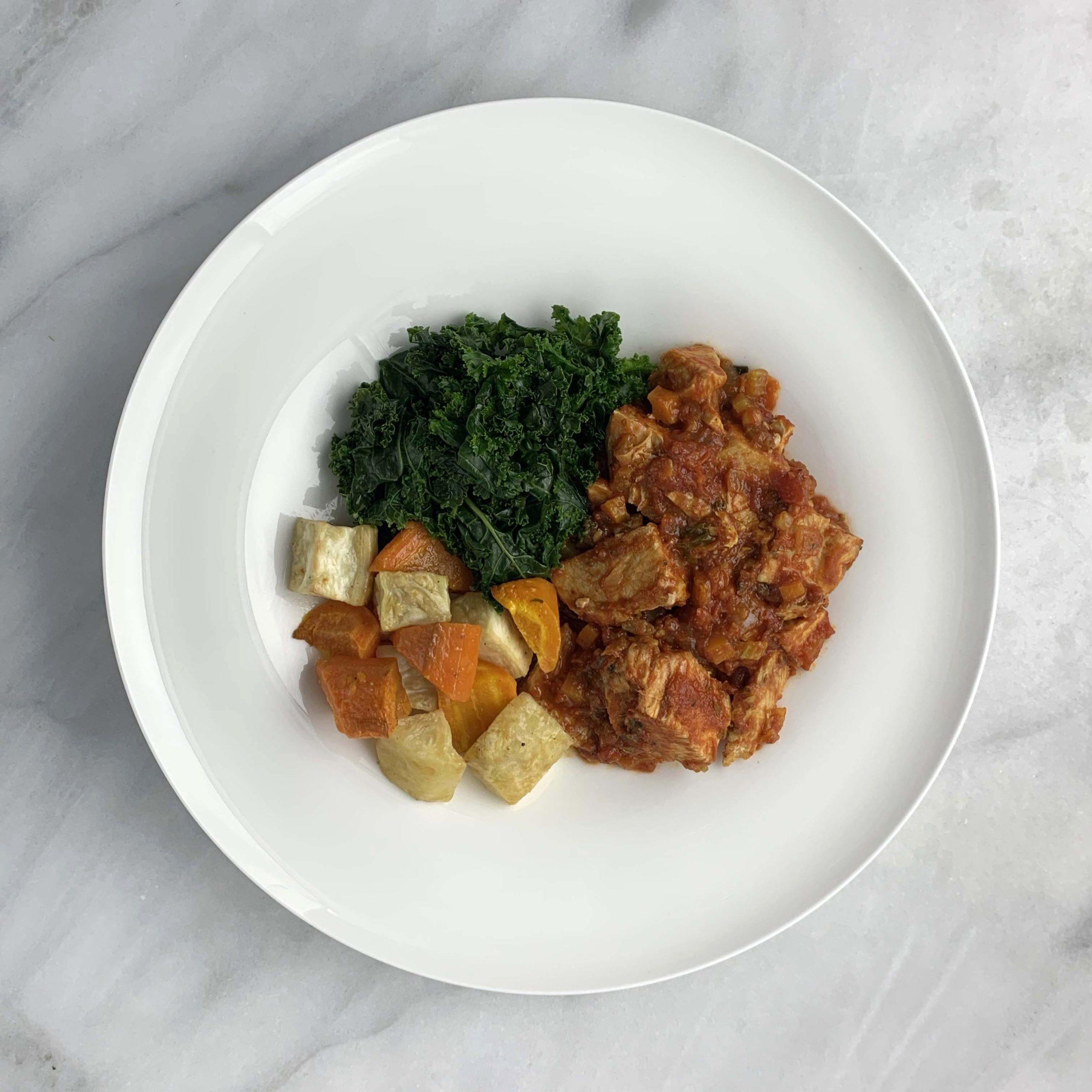 Mediterranean Turkey Stew