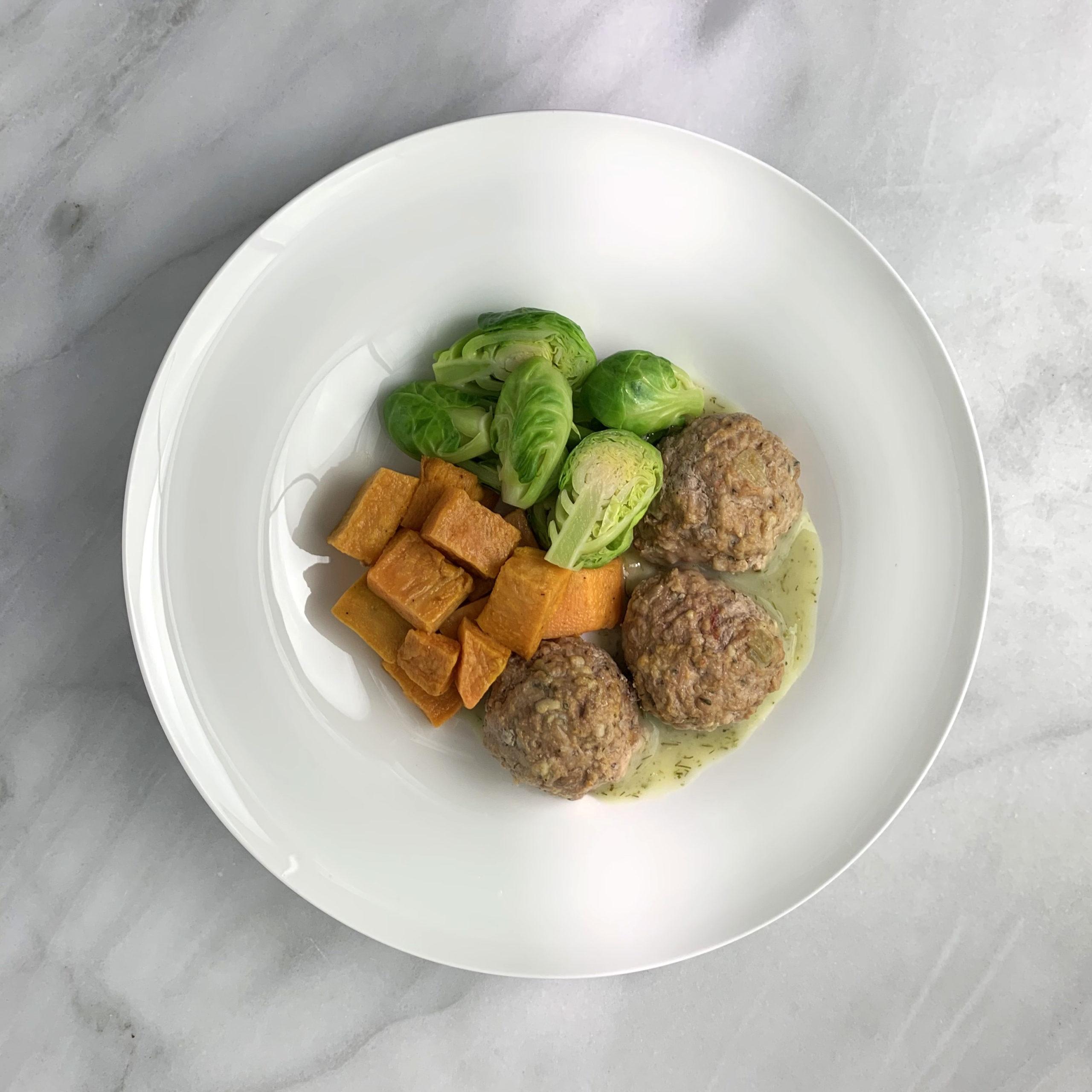 Swedish Turkey Meatballs