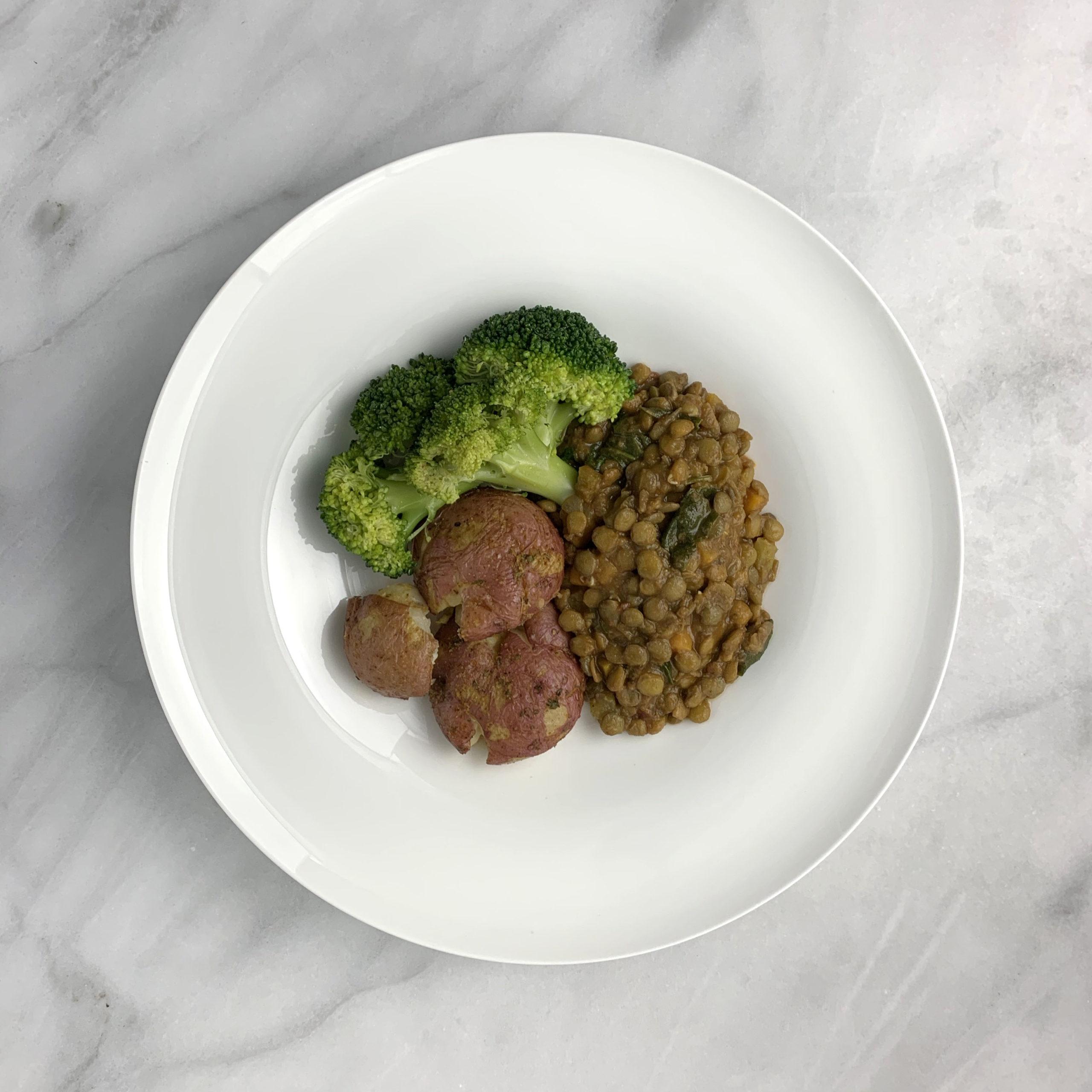 Green Lentil Stew