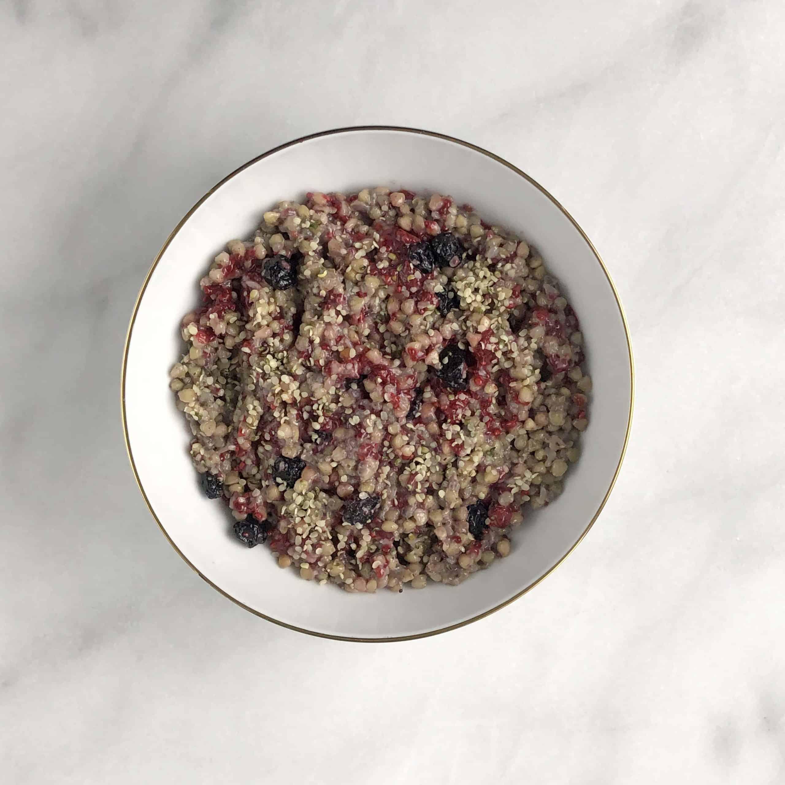 Buckwheat Breakfast Porridge