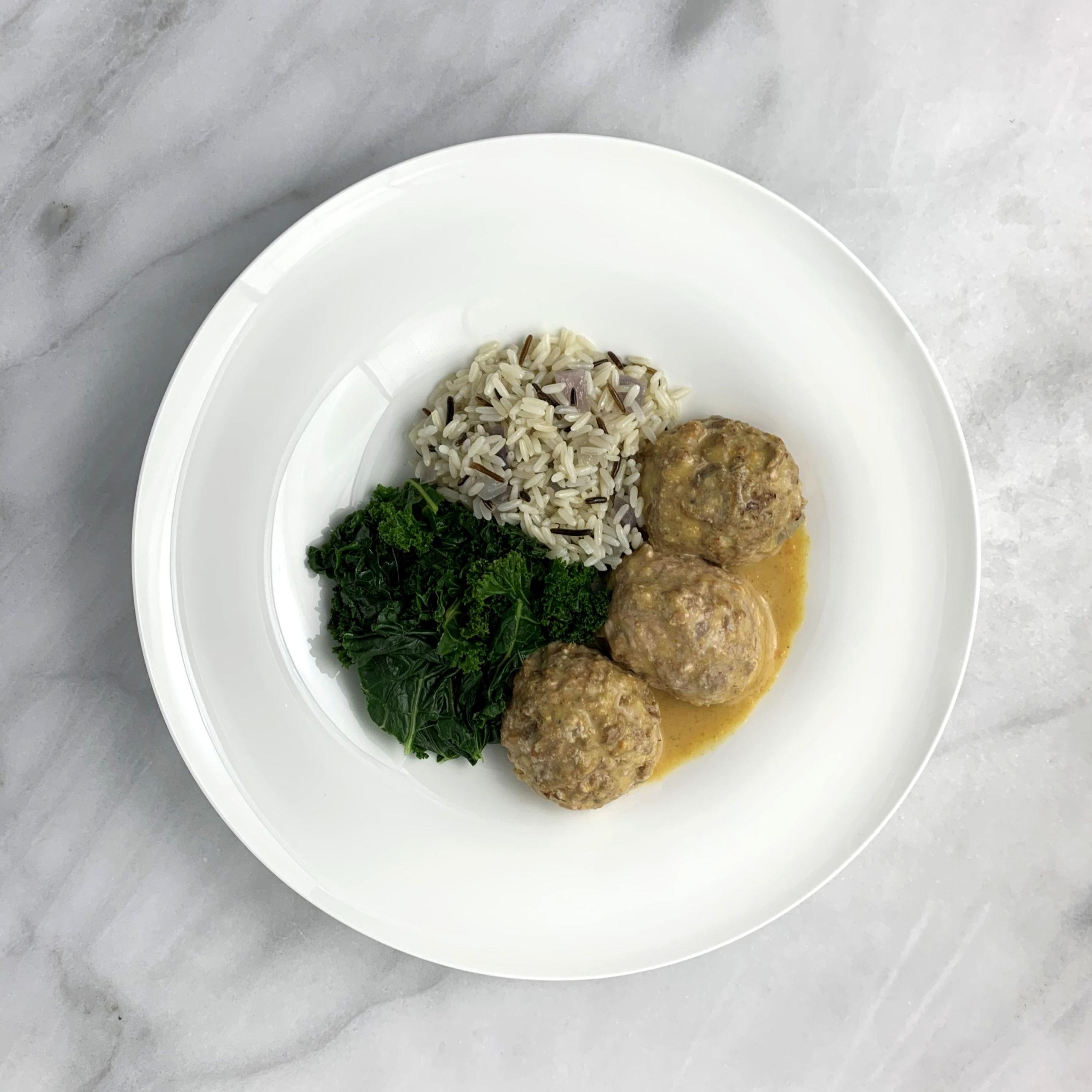Dutch Turkey Meatballs