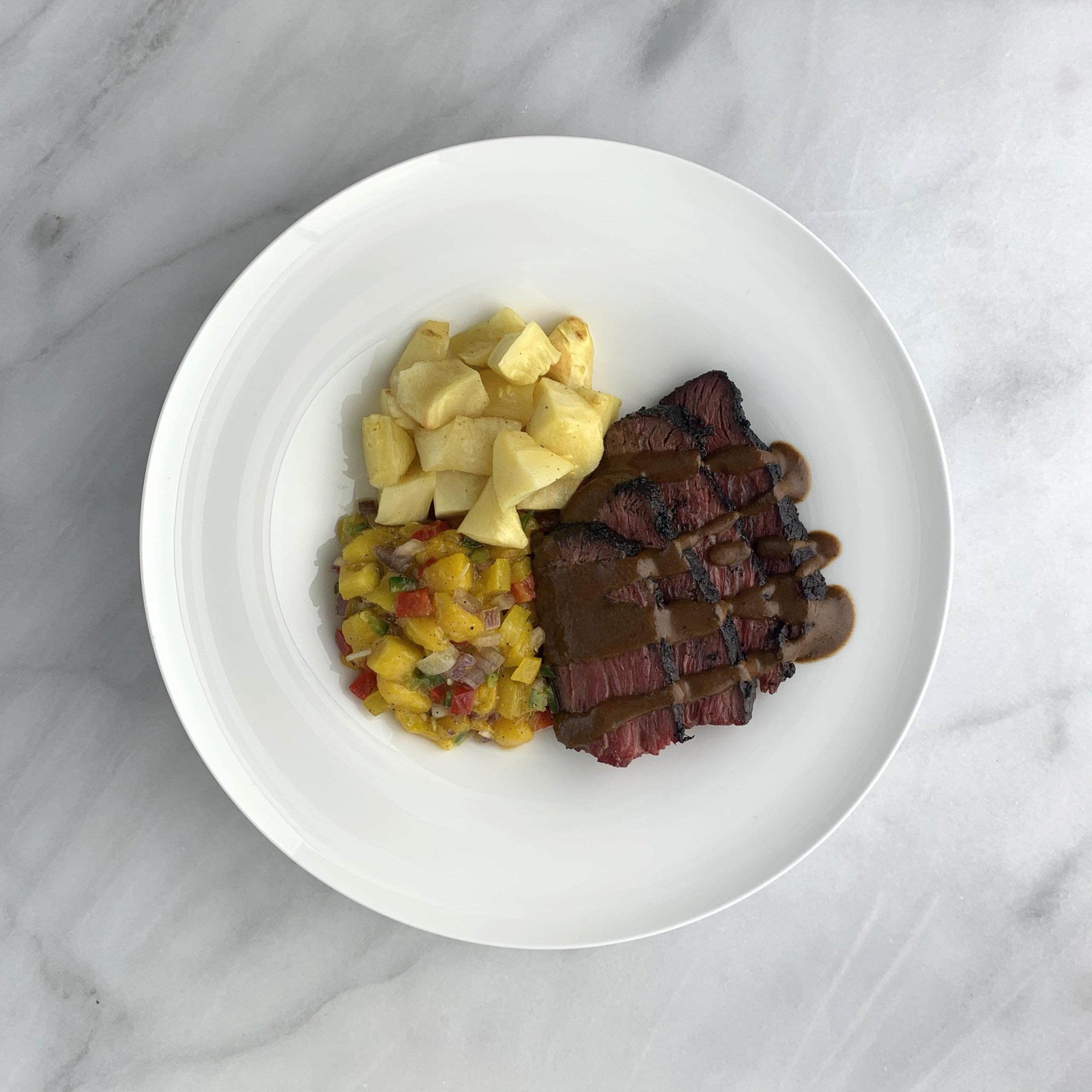 Mexican Mole Steak
