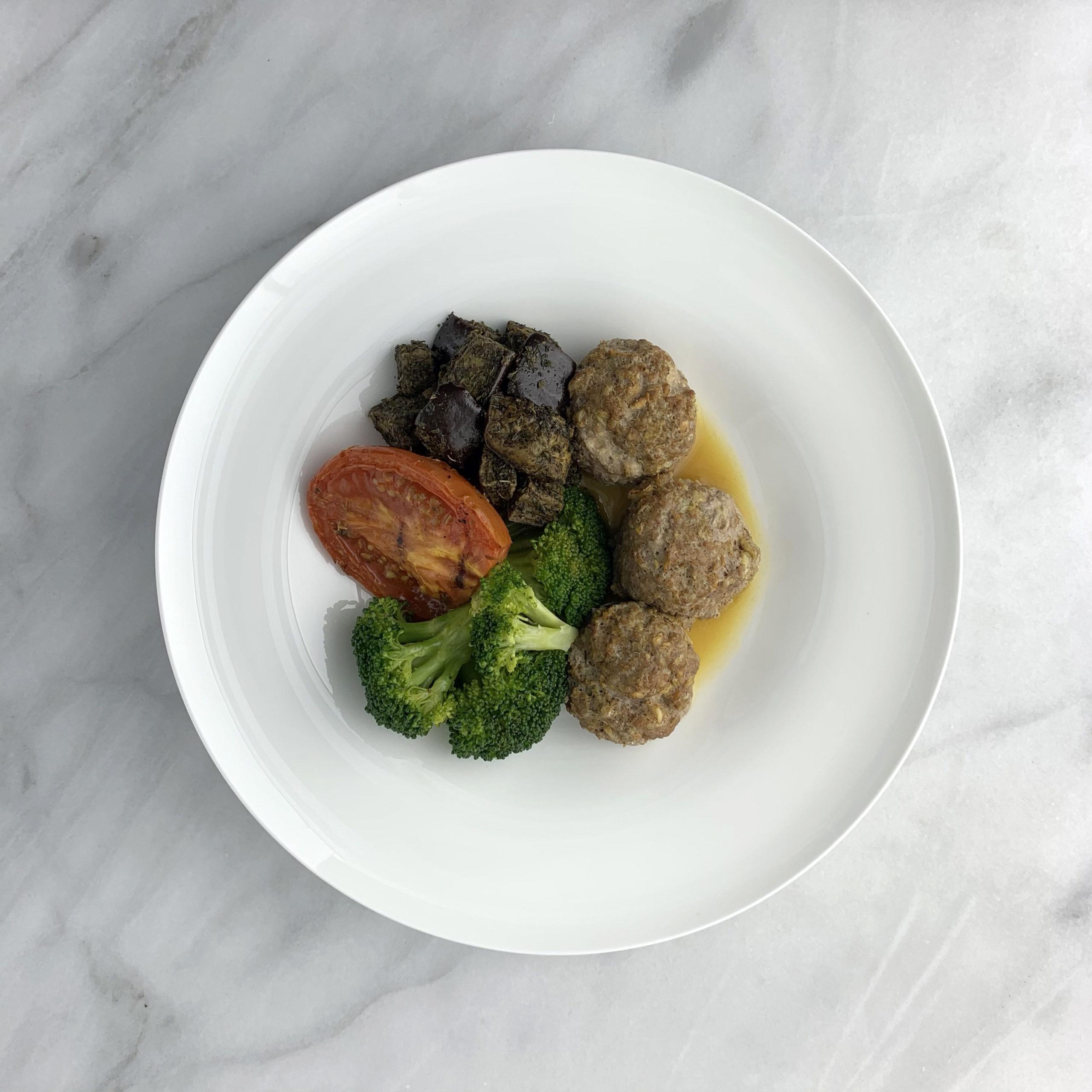 Persian Beef Meatballs