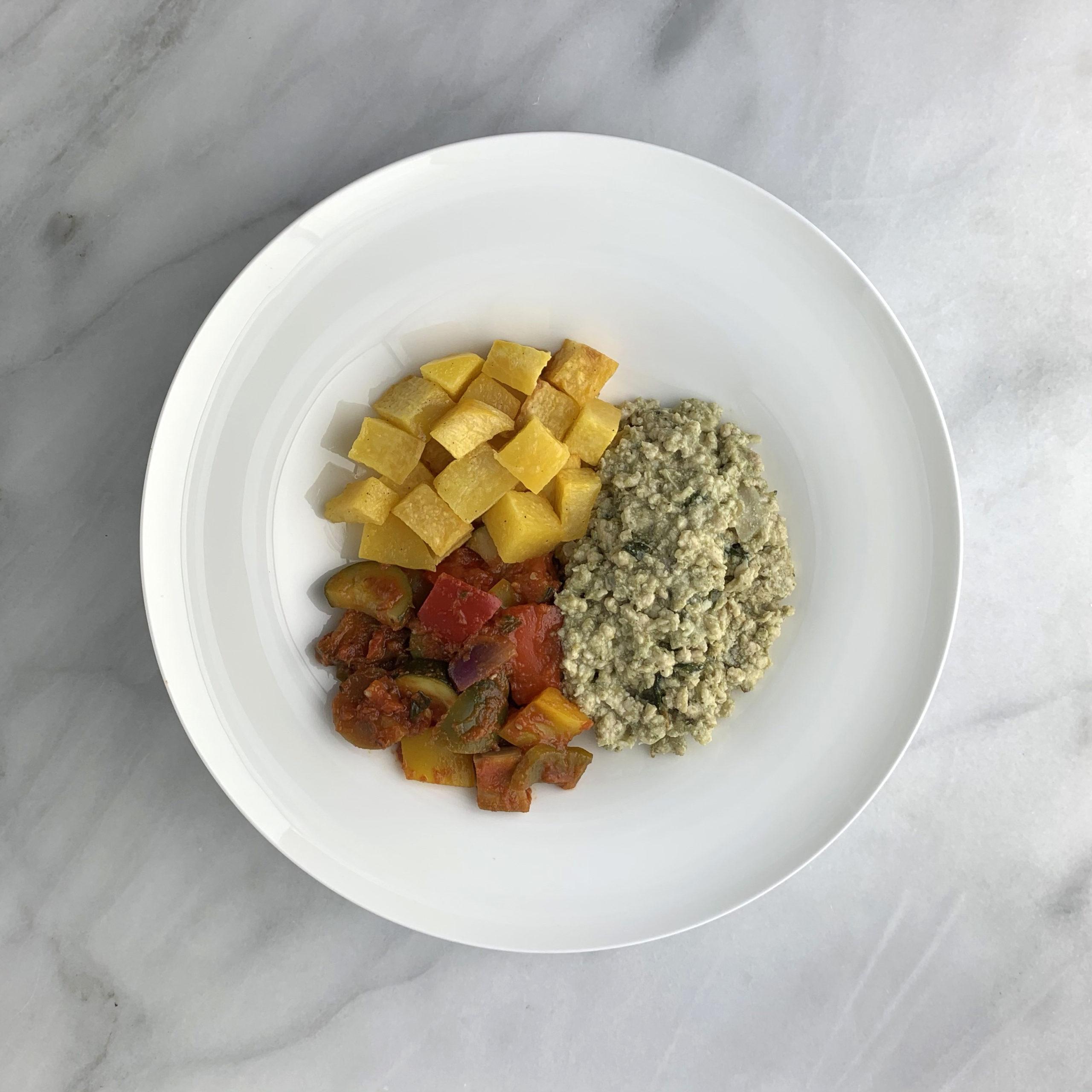 Pesto Chicken Stew
